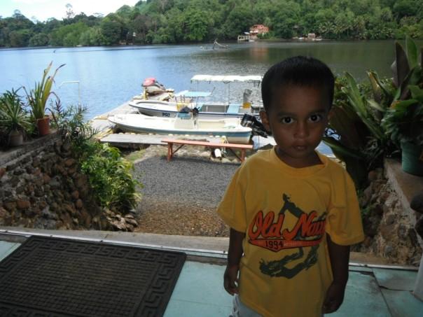 At a dock